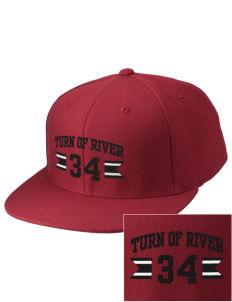 Turn Of River Middle School Titans Embroidered Diamond Series Fitted Cap