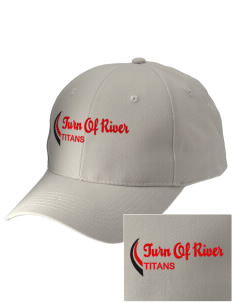 Turn Of River Middle School Titans Embroidered Low-Profile Cap