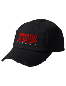 Turn Of River Middle School Titans Embroidered Distressed Cap