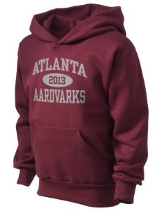 Atlanta Adventist Academy Aardvarks Kid's Hooded Sweatshirt