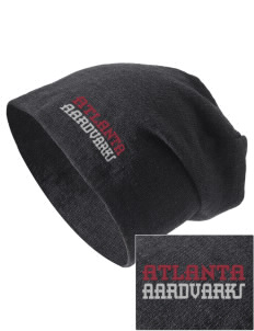 Atlanta Adventist Academy Aardvarks Embroidered Slouch Beanie