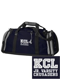 Kaimuki Christian Lower School Crusaders Embroidered OGIO All Terrain Duffel