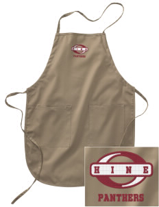 Hine Junior High School Panthers Embroidered Full Length Apron