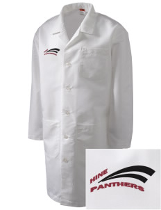 Hine Junior High School Panthers Full-Length Lab Coat