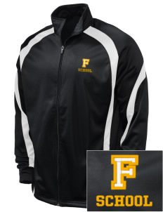 FENN SCHOOL Embroidered Holloway Men's Tricotex Warm Up Jacket