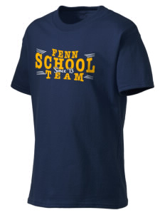 FENN SCHOOL Kid's Lightweight T-Shirt