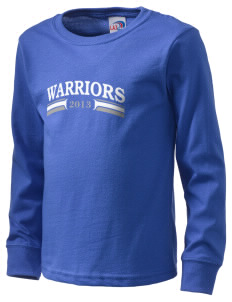 Grace Baptist Academy Warriors  Kid's Long Sleeve T-Shirt