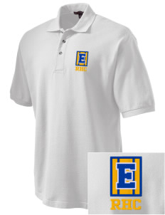 Rochester Hills Christian School Eagles Embroidered Tall Men's Pique Polo