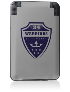Saint Timothy School Warriors Kindle Keyboard 3G Skin