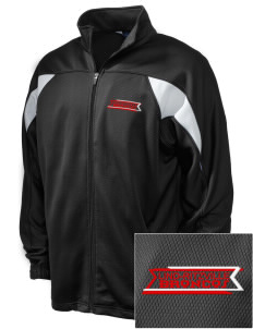 Lind-Ritzville Broncos Embroidered Holloway Men's Full-Zip Track Jacket