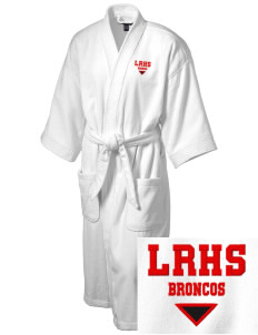 Lind-Ritzville Broncos Embroidered Terry Velour Robe