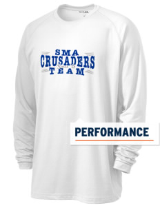 Sierra Madre Academy Crusaders Men's Ultimate Performance Long Sleeve T-Shirt