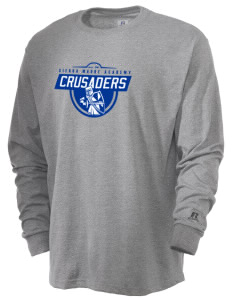 Sierra Madre Academy Crusaders  Russell Men's Long Sleeve T-Shirt
