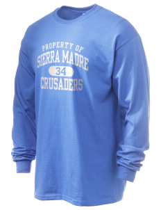 Sierra Madre Academy Crusaders 6.1 oz Ultra Cotton Long-Sleeve T-Shirt
