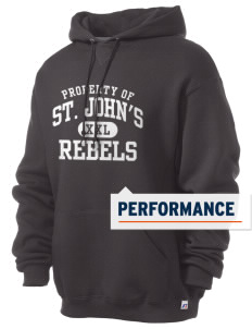 St. John's Elementary School Rebels Russell Men's Dri-Power Hooded Sweatshirt