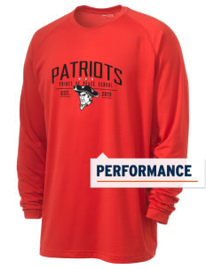 Prince Of Peace Lutheran School Patriots Men's Ultimate Performance Long Sleeve T-Shirt