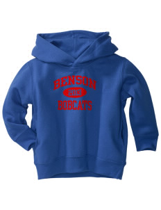 Benson High school Bobcats  Toddler Fleece Hooded Sweatshirt with Pockets