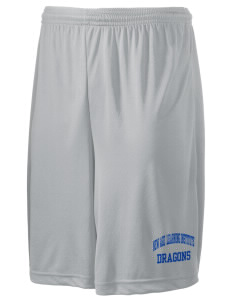 "New Age Academy Learning Institute Dragons Men's Competitor Short, 9"" Inseam"