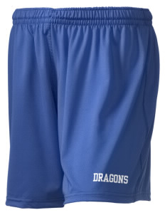 "New Age Academy Learning Institute Dragons Holloway Women's Performance Shorts, 5"" Inseam"