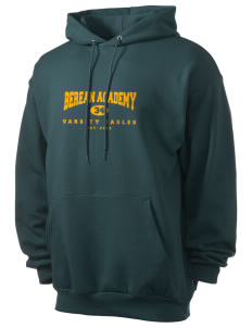 Berean Academy Eagles Men's 7.8 oz Lightweight Hooded Sweatshirt
