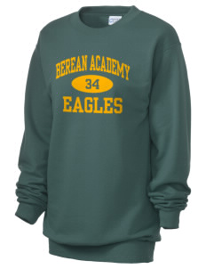 Berean Academy Eagles Unisex 7.8 oz Lightweight Crewneck Sweatshirt
