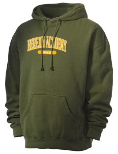 Berean Academy Eagles Men's 80/20 Pigment Dyed Hooded Sweatshirt