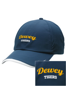 Dewey Elementary School Tigers Embroidered Nike Dri-FIT Swoosh Perforated Cap