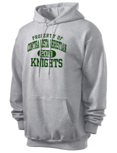 Contra Costa Christian Academy Knights Men's 7.8 oz Lightweight Hooded Sweatshirt