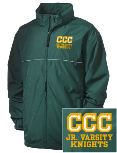 Contra Costa Christian Academy Knights Embroidered Men's Element Jacket