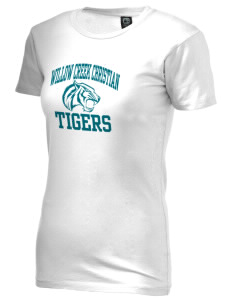 Willow Creek Christian School Tigers Alternative Women's Basic Crew T-Shirt