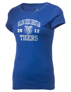 Willow Creek Christian School Tigers Holloway Women's Groove T-Shirt