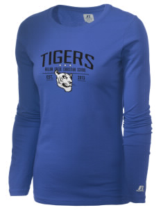 Willow Creek Christian School Tigers  Russell Women's Long Sleeve Campus T-Shirt