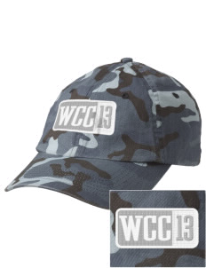 Willow Creek Christian School Tigers Embroidered Camouflage Cotton Cap