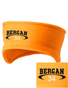 Bergan High School Trojans Embroidered Fleece Headband