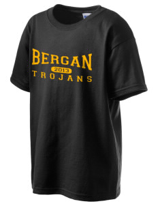 Bergan High School Trojans Kid's 6.1 oz Ultra Cotton T-Shirt