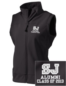 Saint John Lutheran School Eagles  Embroidered Women's Glacier Soft Shell Vest