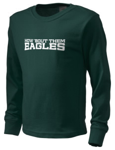 Saint John Lutheran School Eagles  Kid's Long Sleeve T-Shirt