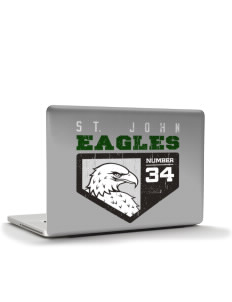 "Saint John Lutheran School Eagles Apple MacBook Pro 15"" & PowerBook 15"" Skin"