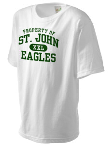 Saint John Lutheran School Eagles Kid's Organic T-Shirt