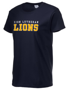 Zion Lutheran School Lions Women's 6.1 oz Ultra Cotton T-Shirt