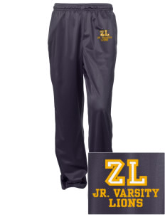 Zion Lutheran School Lions Embroidered Women's Tricot Track Pants