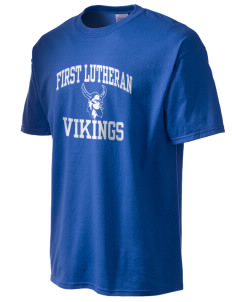 First Lutheran School Vikings Tall Men's Essential T-Shirt