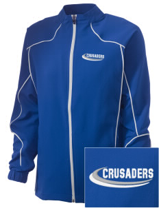Armenian Sisters Academy Crusaders Embroidered Russell Women's Full Zip Jacket