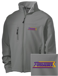 Thomas Jefferson Elder High School Tigers Embroidered Men's Soft Shell Jacket
