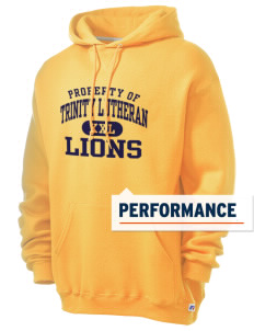 Trinity Lutheran School Lions Russell Men's Dri-Power Hooded Sweatshirt