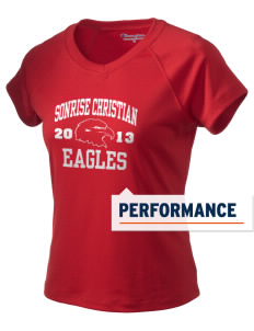 Sonrise Christian School Eagles Champion Women's Wicking T-Shirt