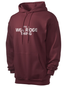 Wea Ridge Middle School Huskies Men's 7.8 oz Lightweight Hooded Sweatshirt