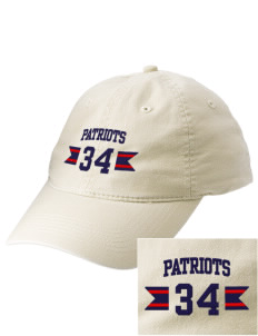Christian Senior High School Patriots Embroidered Vintage Adjustable Cap