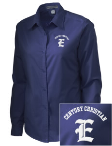 Century Christian School Eagles Embroidered Women's Easy-Care Shirt