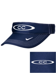 Century Christian School Eagles Embroidered Nike Golf Dri-Fit Swoosh Visor